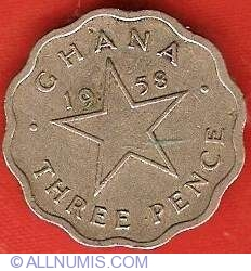 Image #2 of 3 Pence 1958