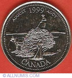 Image #2 of 25 Cents 1999 - August