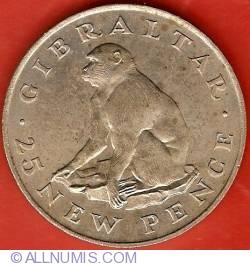 Imaginea #2 a 25 New Pence 1971
