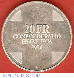 Image #1 of 20 Francs 1996