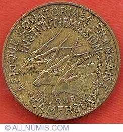 Imaginea #1 a 5 Franci 1958