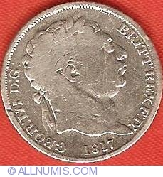 Sixpence 1817