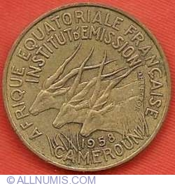 Image #1 of 10 Francs 1958