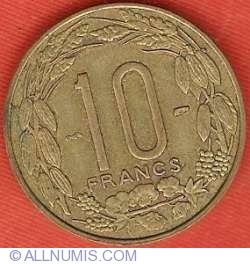 Image #2 of 10 Francs 1958