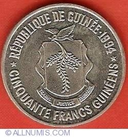 Imaginea #1 a 50 Franci 1994