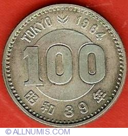 Image #2 of 100 Yen 1964 - Tokyo Olympics