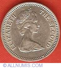Image #1 of 3 Pence (2 1/2 Cents) 1968