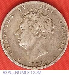 Sixpence 1829