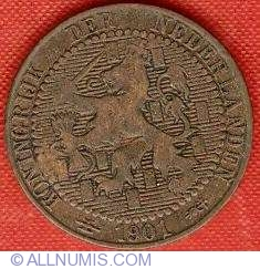 Image #1 of 1 Cent 1901 - 10 shields