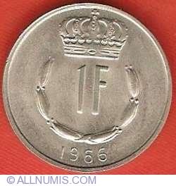 Image #2 of 1 Franc 1966