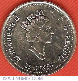 Image #1 of 25 Cents 1999 - November