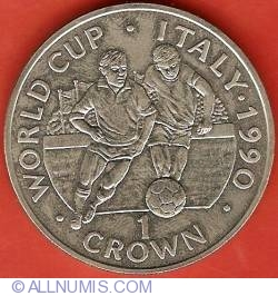 Imaginea #2 a 1 Crown 1990 - World Cup Soccer - Italy 1990
