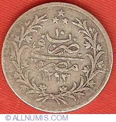 Imaginea #2 a 2 Qirsh 1884 (AH1293/10)