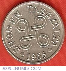 Image #1 of 5 Markkaa 1956