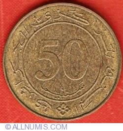 Imaginea #1 a 50 Centimes 1988 25th Anniversary of Constitution