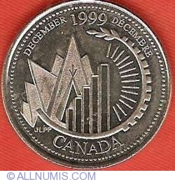 Image #2 of 25 Cents 1999 - December