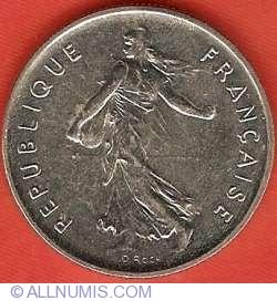 Image #1 of 5 Francs 1995