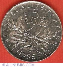 Image #2 of 5 Francs 1995
