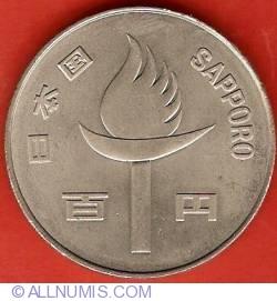 100 Yen 1972 - Winter Olympics Sapporo 1972