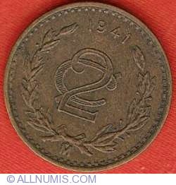 Image #2 of 2 Centavos 1941