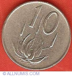 Image #2 of 10 Cents 1971
