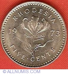Image #2 of 5 Cents 1973