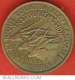 Image #1 of 25 Francs 1958