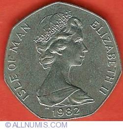 Image #1 of 50 Pence 1982AB - Christmas
