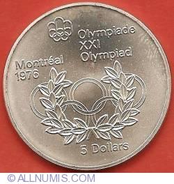 5 Dollars 1974 - Montreal Olympics