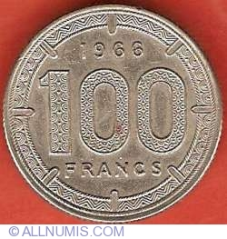 Image #2 of 100 Francs 1966