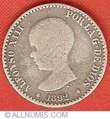 Image #1 of 50 Centimos 1892