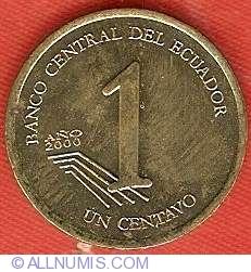 Imaginea #2 a 1 Centavo 2000
