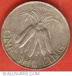 Imaginea #2 a 1 Shilling 1968