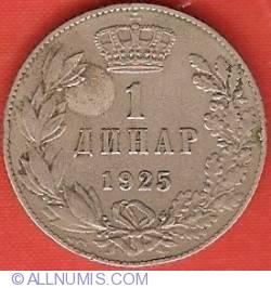 Imaginea #2 a 1 Dinar 1925 P