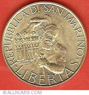 San Marino 200 Lire 1994 24mm UNC km131 F.A.O Commemorative Coin