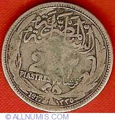 Image #2 of 2 Piastres 1917 (AH1335)