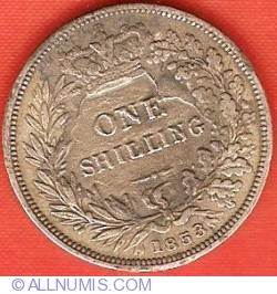 Shilling 1853