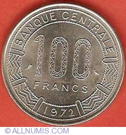 Image #2 of 100 Francs 1972