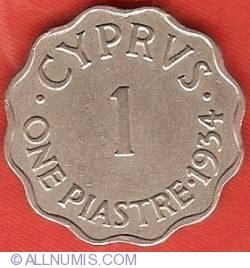 Image #2 of 1 Piastre 1934