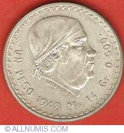 Image #2 of 1 Peso 1948