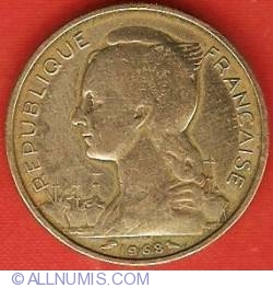 Image #2 of 20 Francs 1968