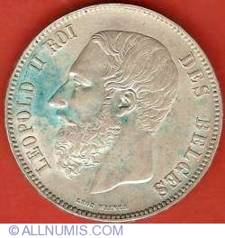 5 Franci 1870