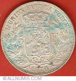 Image #2 of 5 Francs 1870