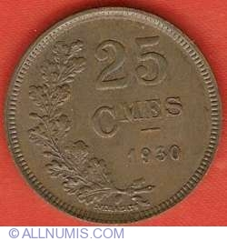 Image #2 of 25 Centimes 1930