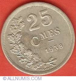 Image #2 of 25 Centimes 1938