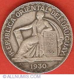 Image #1 of 20 Centesimos 1930 - Constitutional Centennial
