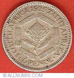 Image #2 of 6 Pence 1925