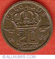 Image #1 of 20 Centimes 1962 French
