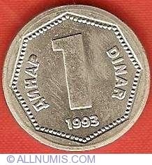 Image #2 of 1 Dinar 1993