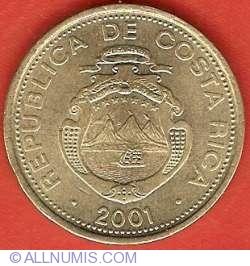 25 Colones 2001
